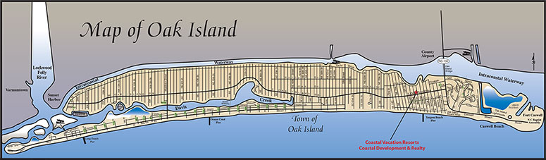 Oak Island Map Directions to Oak Island NC | Map of Oak Island NC